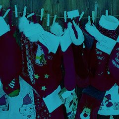 Hæng din julesok op